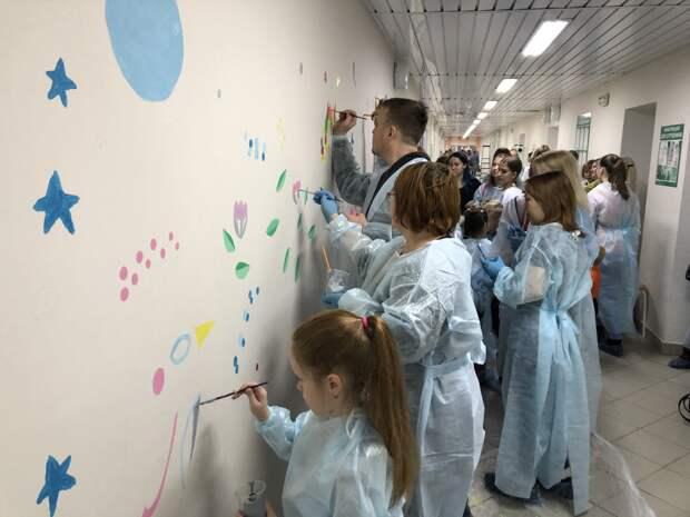 В Воткинске разукрасят стены детской больницы