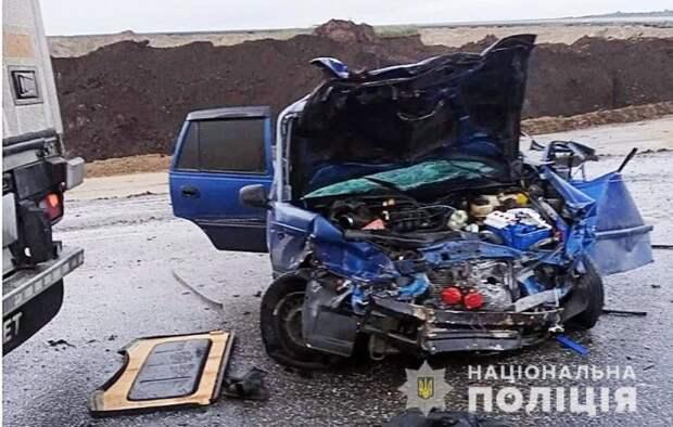 В ДТП в Полтавской области пострадали четыре человека