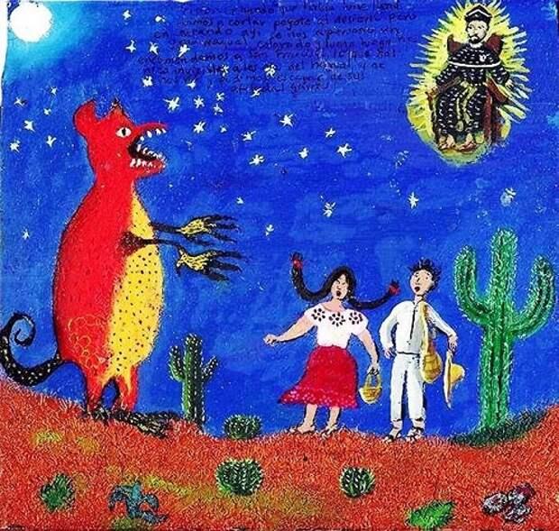 Оборотни в культуре американских индейцев