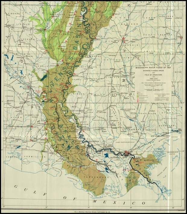 Roots From The Bayou: Flooding of the Mighty Mississippi, Part ...