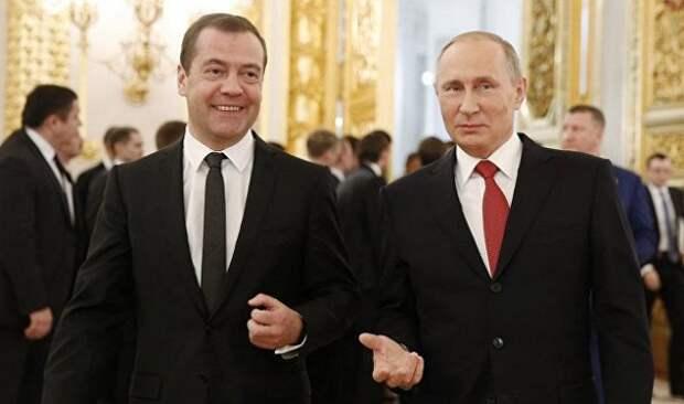 Медведев не так популярен, как Путин