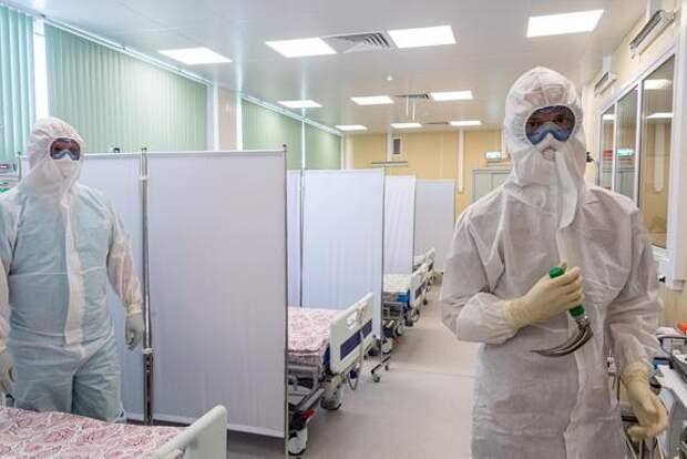 В России за сутки скончались 356 человек с COVID-19
