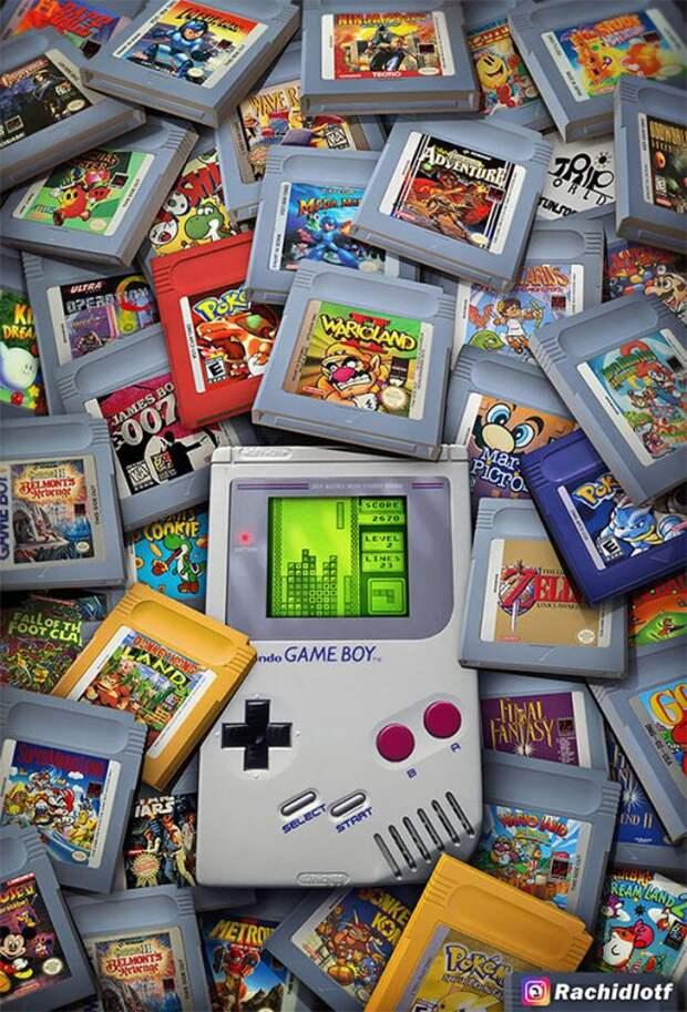 Дети 90-х: художник отображает в своих произведениях ностальгию по старым видеоиграм