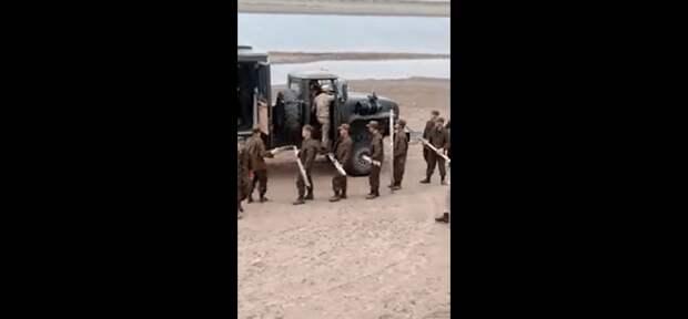 Ограждение  на границе с Россией в Атырауской области демонтировали после протеста сельчан (видео)