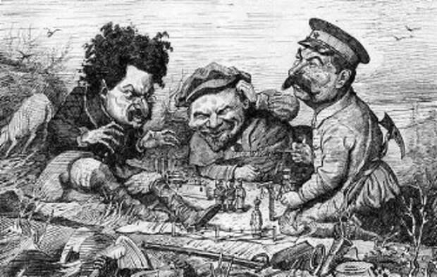 Фото: Троицкий и Сталин — отношения