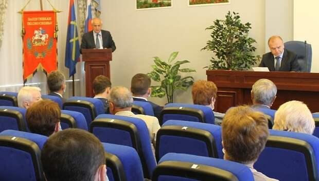 Депутаты Подольска утвердили 13 сентября днем голосования на выборах в горсовет