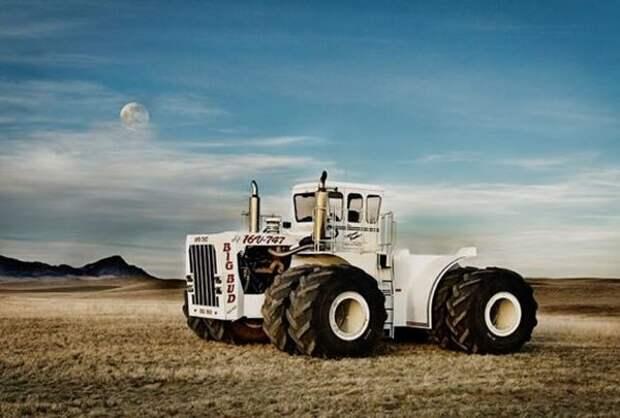 Чисто мужской трактор