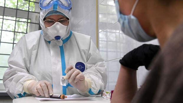 В России выявлен 8 271 случай COVID-19