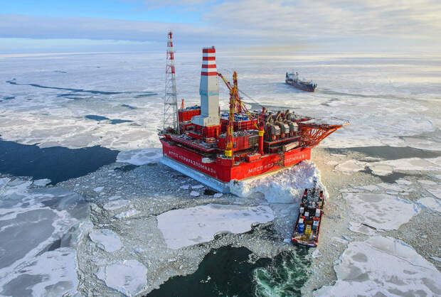 Ворота Арктики . Платформа Приразломная