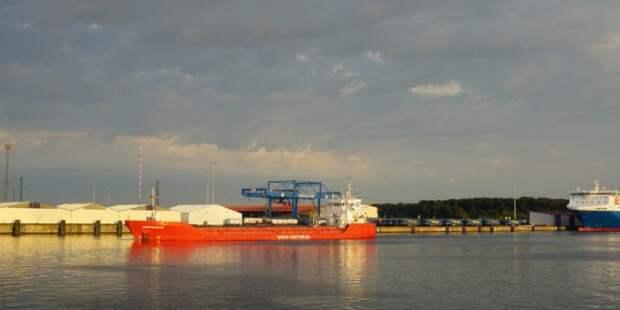 Запланированный СПГ терминал Новатэка в порту Росток Германия, остановлен
