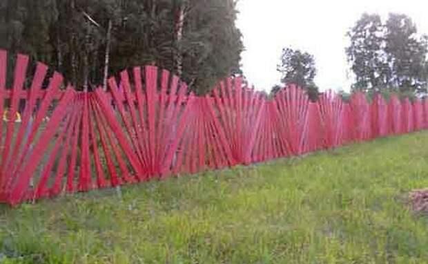 Как сделать декоративный забор