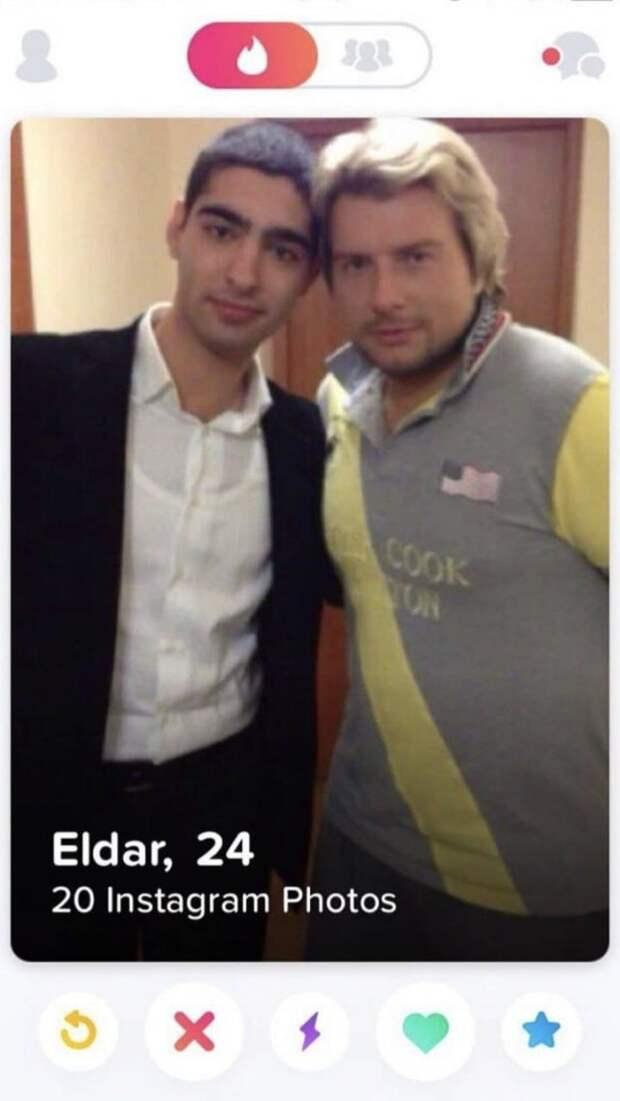 Эльдар из Tinder с Николаем Басковым