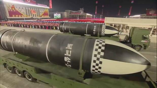 «Самое мощное оружие в мире»: северокорейская ракета «Пуккыксон-5А»