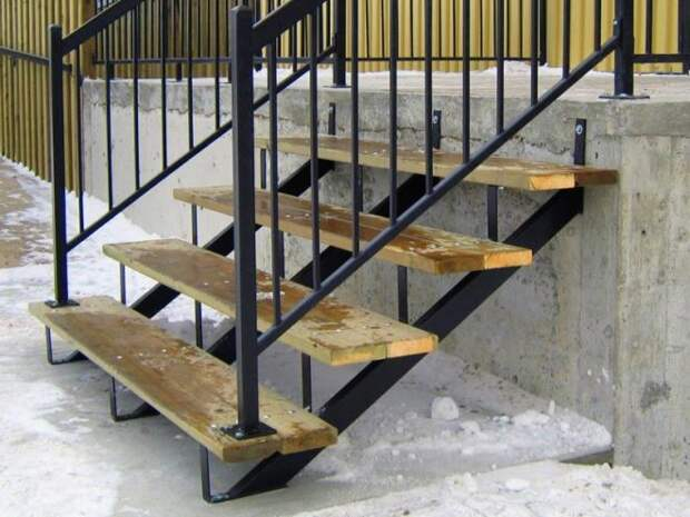 Лестницы на металлокаркасе: виды и конструктивные особенности (65 фото)