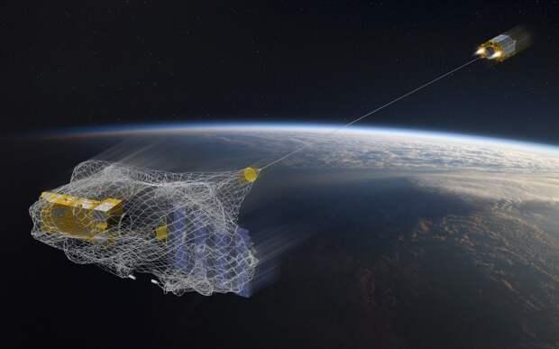 В России создали космического уборщика