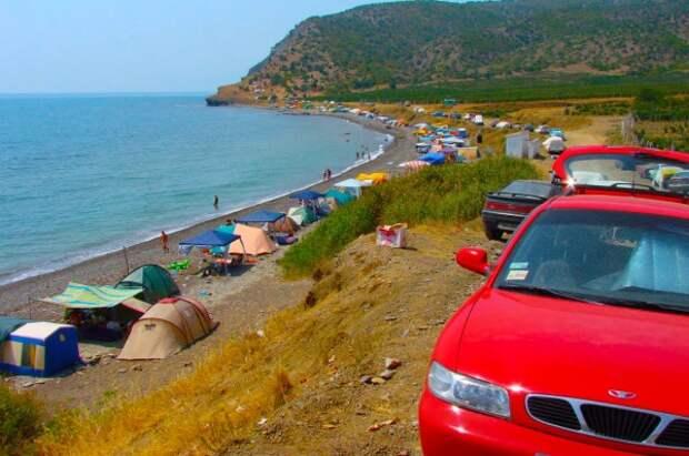 Туристы выбрали для отдыха в кемпингах Крым