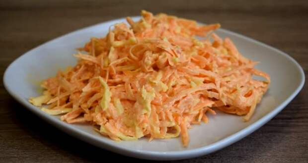На столе столько всего, а гости едят только этот салат из моркови. Салат-объедение за 7 минут