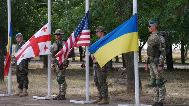 На Украине объявили об окончании военных учений Sea Breeze-2021 в Черном море