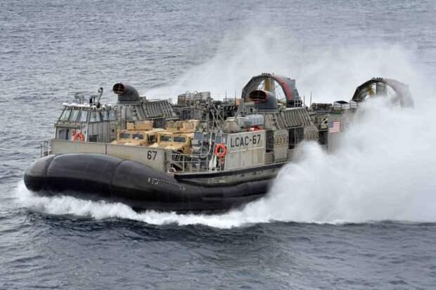 «Хаска 10». Новое российское судно на воздушной подушке