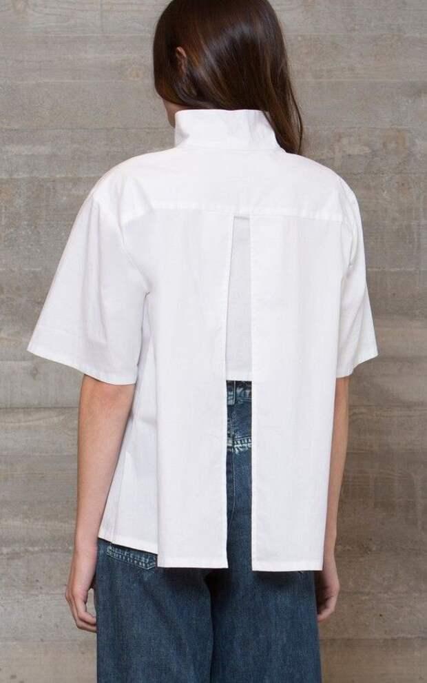Детали белых блузок