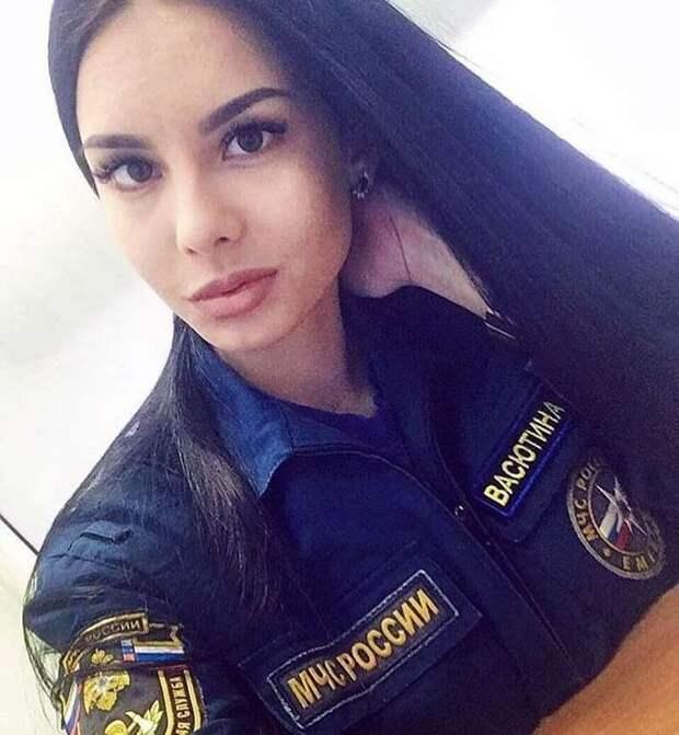 Девушки МЧС России: красота, сила и отвага . Чёрт побери