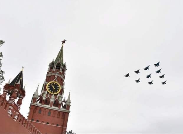 Песков: Президент Украины не был приглашен на парад Победы