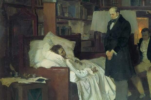 Как умер Пушкин на самом деле