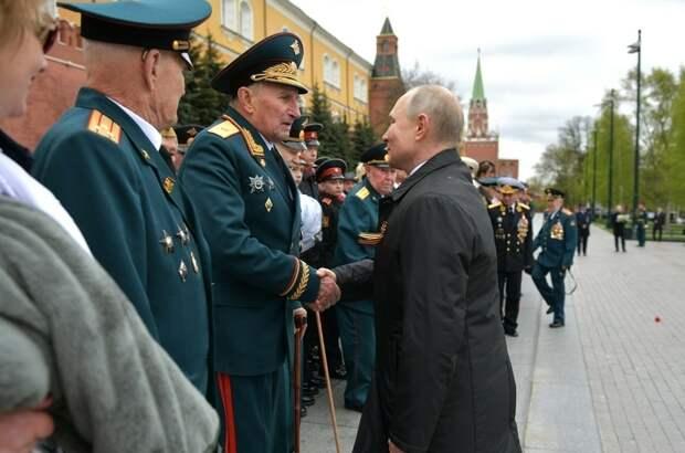 Путин отметил значение примирения народов России и Германии для Европы