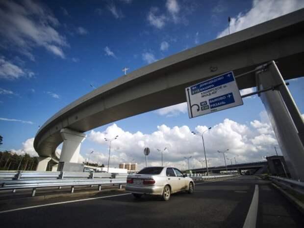 В 2014 году Москва направит на дорожное строительство почти 100 млрд рублей