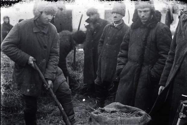 Саботаж хлебозаготовок в 1932 году.