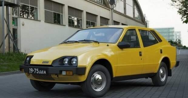 """Иж-19 """"Старт-Комби"""", 1975 год. Автомобиль проектировался как молодёжный, сделанный для современных на тот момент молодых людей. Динамичный силуэт, модный даже сегодня горб на капоте, как-бы подразумевающий V-образную шестёрку с турбонаддувом внутри. СССР, авто, фото"""