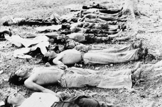 Жертвы геноцида