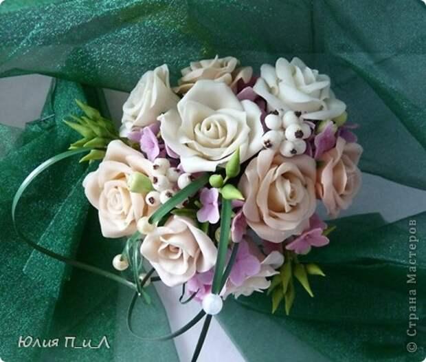 Мастер-класс,  Лепка, : Розовые «секреты» и не только…МК Фарфор холодный День рождения, . Фото 7