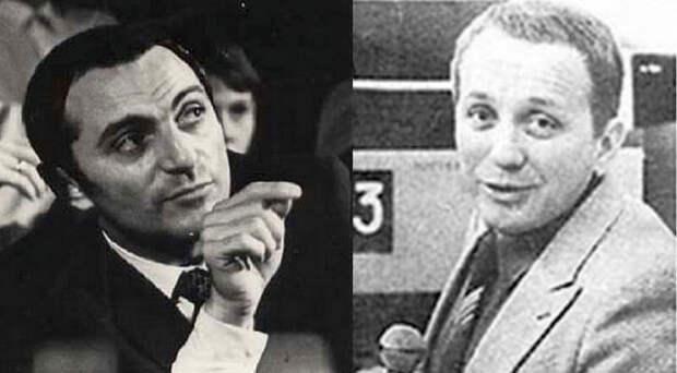 Первый ведущий КВН Альберт Аксельрод и нынешний Александр Масляков