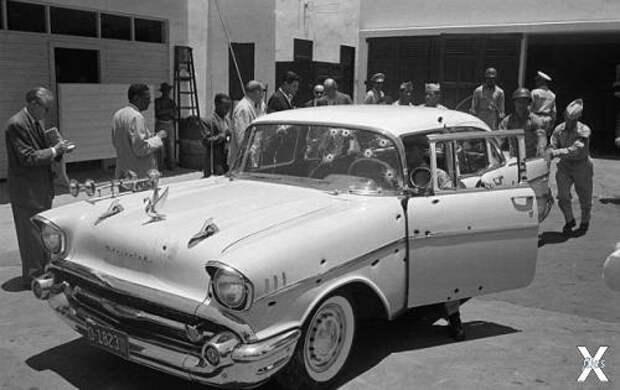 Машина, в которой был расстрелян доминиканский лидер Рафаэль Трухильо