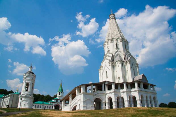 Церковь Вознесения Господня в Коломенском, Москва, Россия, Европа