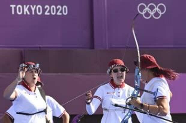 Российские лучницы гарантировали себе как минимум серебро на Играх