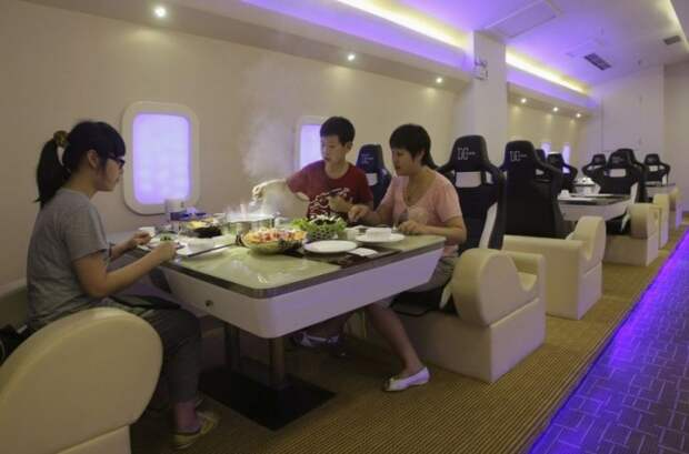 Тематический ресторан Airbus A380