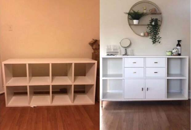 22 переделки безликой мебели IKEA в уникальную изюминку интерьера