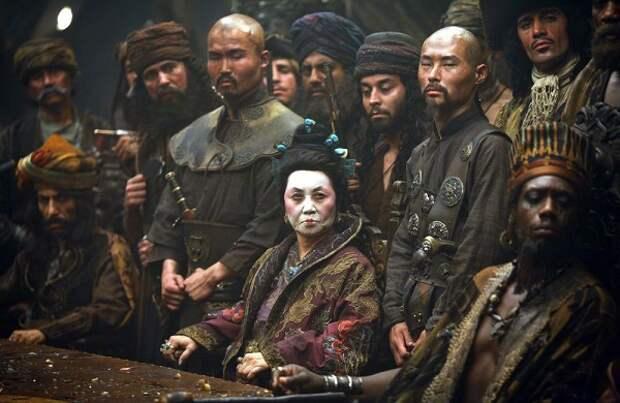 Госпожа Чжэн стала прототипом одной из герой фильма «Пираты Карибского моря».