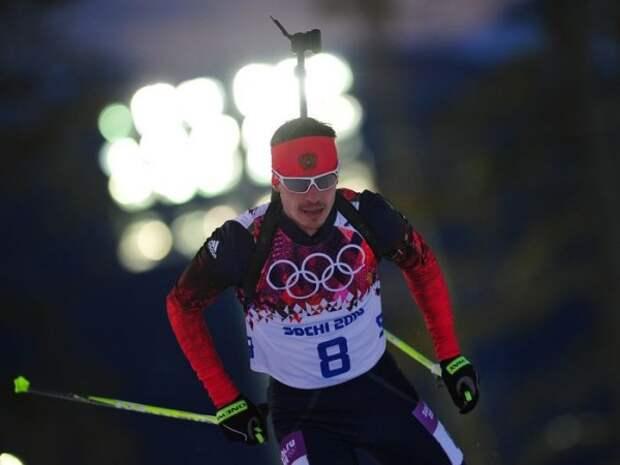 Российского биатлониста обвинили в применении 0 граммов допинга