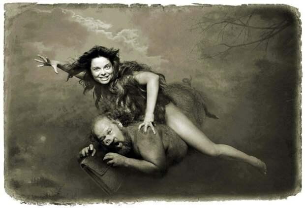 «Мастер и Маргарита»: потрясающая серия фотоиллюстраций
