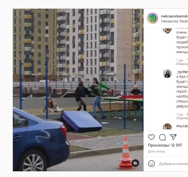 Кинозвезды «подрались» в 14 квартале Некрасовки