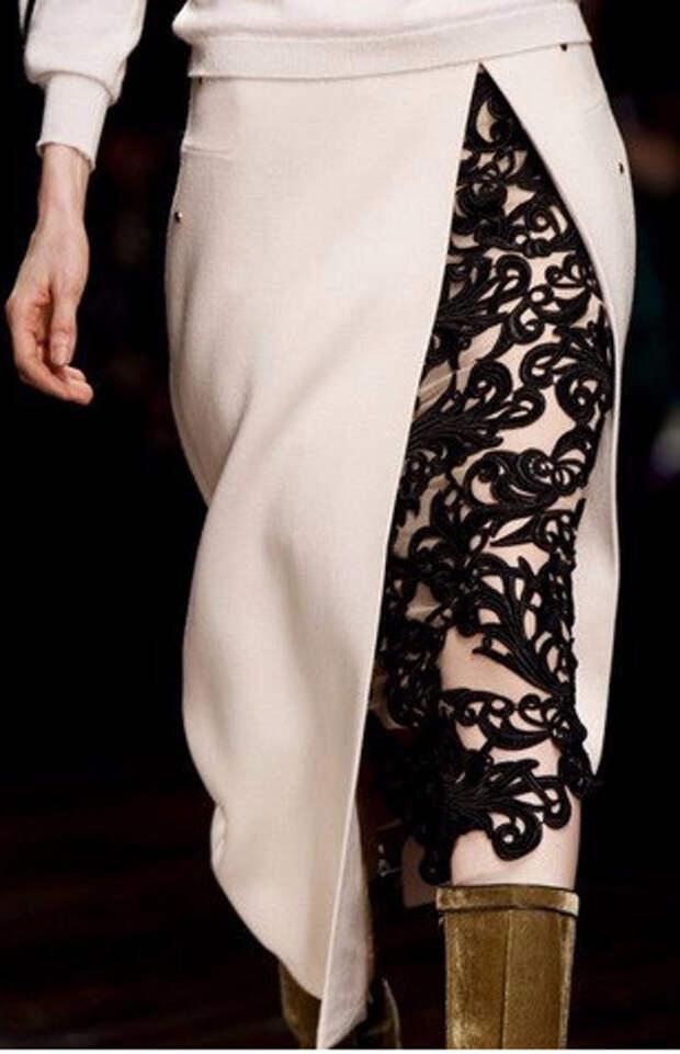 Интересные и очень красивые детали юбок