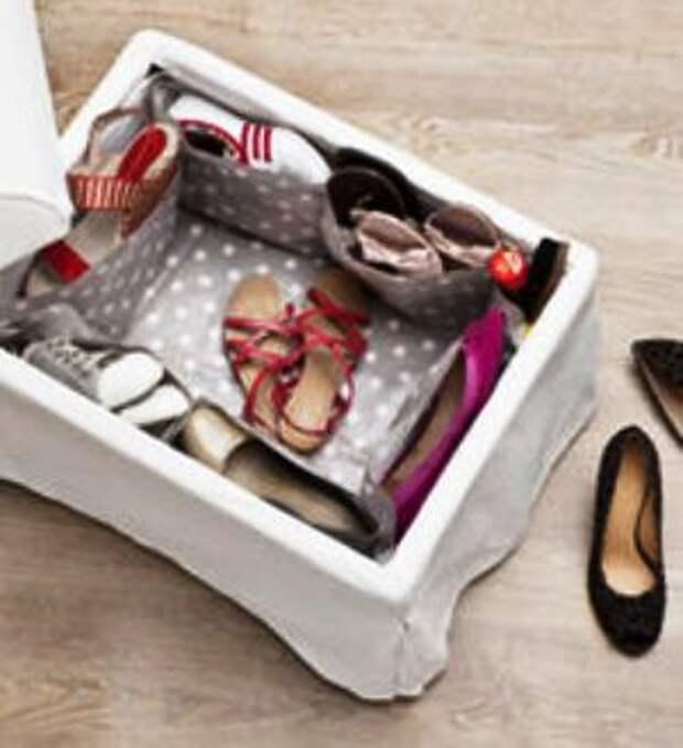 15 интересных идей по хранению обуви