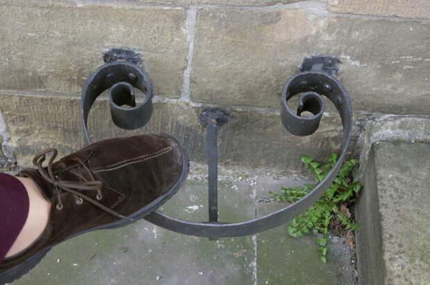 Скребок для обуви в Европе/ Фото:Frank Vincentz
