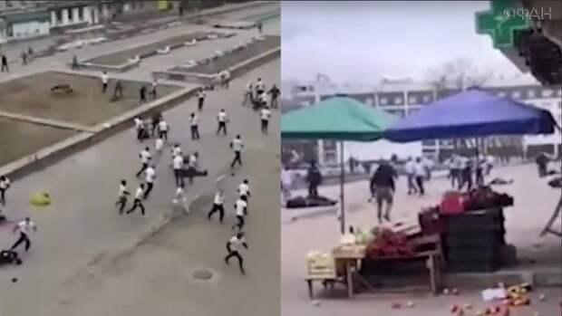 В Обнинске произошла массовая драка футбольных фанатов