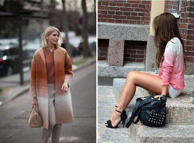 Переходный момент: градиентная мода