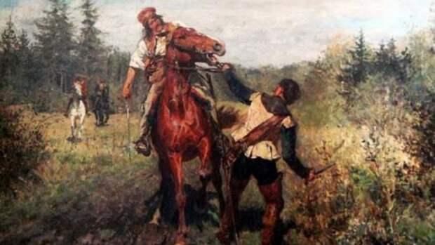 Языческие обряды русских разбойников: посвящение, награды и наказания