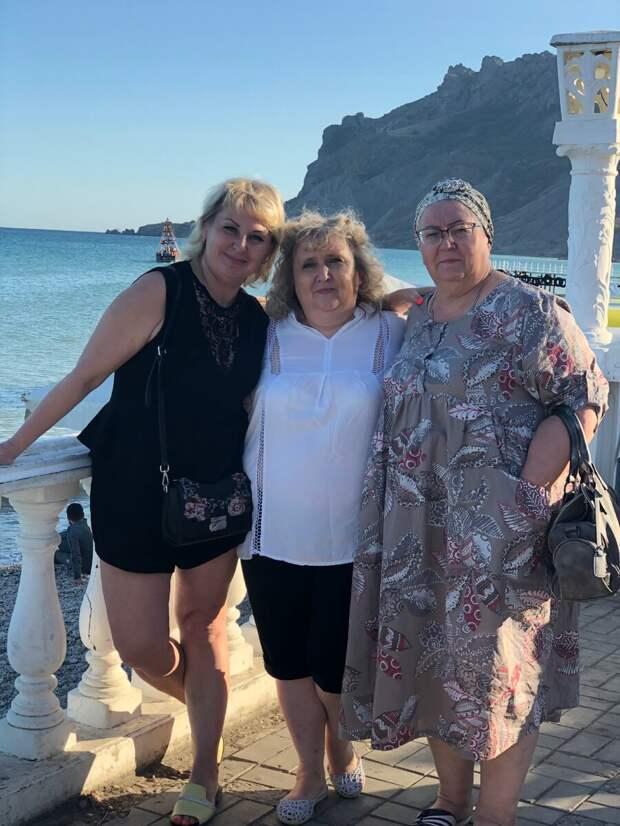 Коктебель-наша первая остановка в Крыму
